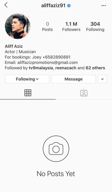 aliff aziz instagram