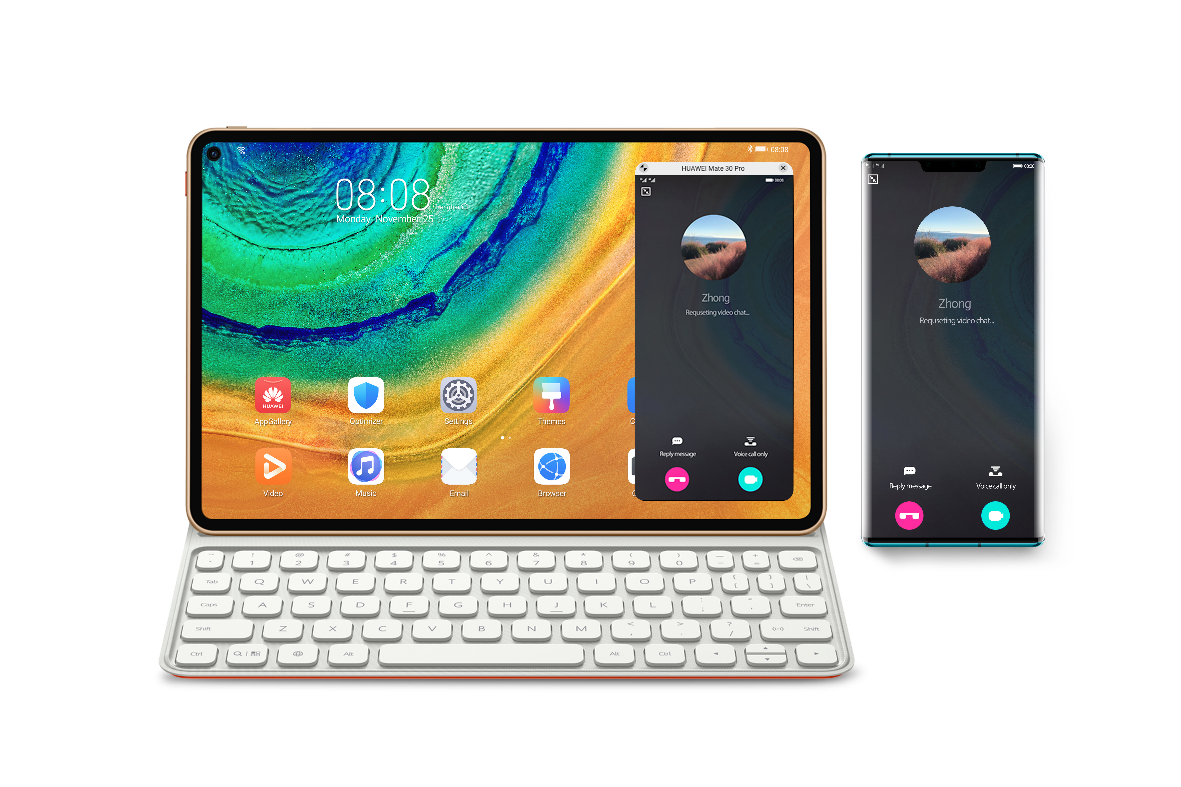 huawei mate pad and p40