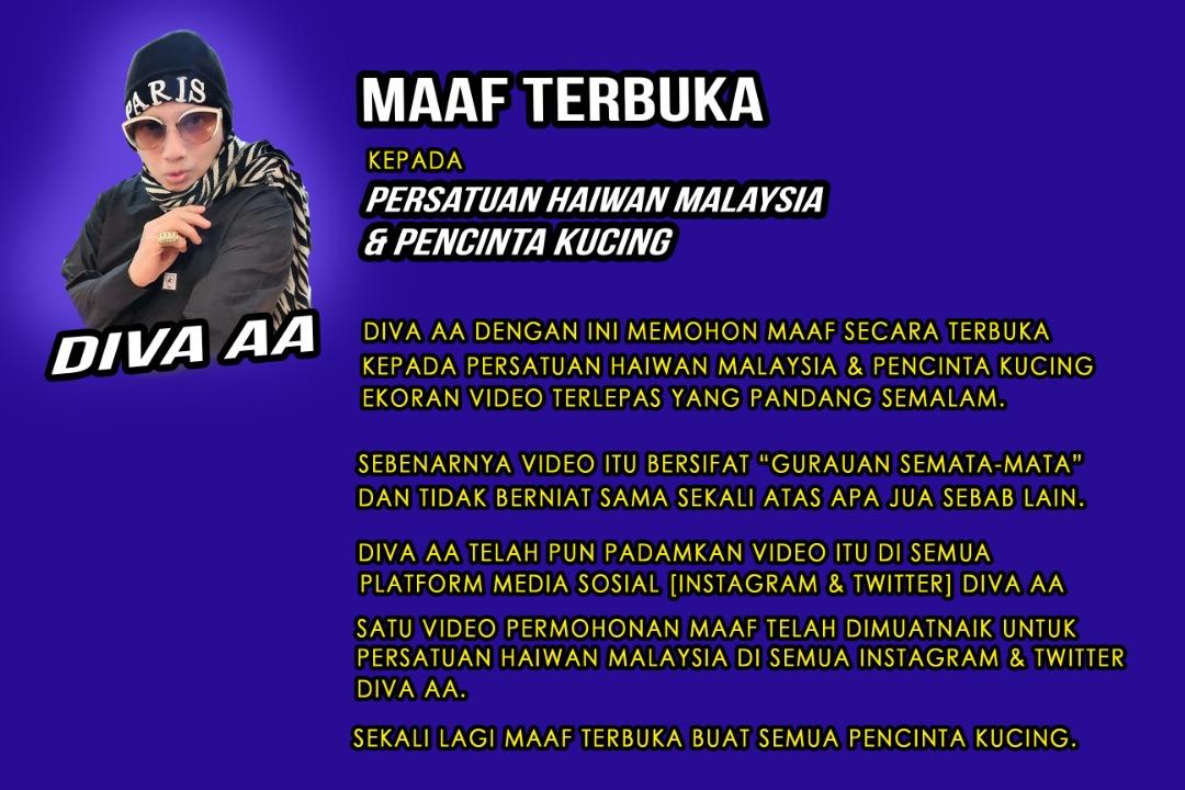 azwan ali dan persatuan haiwan malaysia